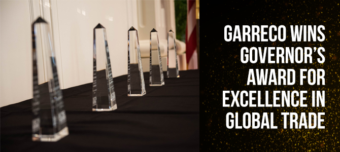 Garreco Dental recognized for excellence in global trade